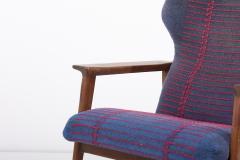Hans Olsen Pair of Danish Lounge Chairs Denmark 1960s - 2077132