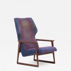 Hans Olsen Pair of Danish Lounge Chairs Denmark 1960s - 2078872
