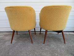Hans Olsen Pair of Danish Modern Hans Olsen Style Teak Lounge Chair - 1646103