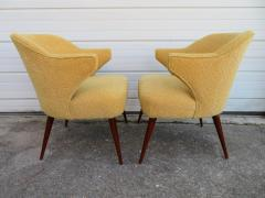 Hans Olsen Pair of Danish Modern Hans Olsen Style Teak Lounge Chair - 1646106