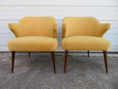 Hans Olsen Pair of Danish Modern Hans Olsen Style Teak Lounge Chair - 1646107