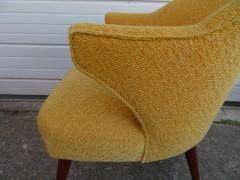 Hans Olsen Pair of Danish Modern Hans Olsen Style Teak Lounge Chair - 1646114