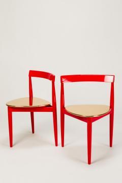 Hans Olsen Pair of Golden Hans Olsen Chairs - 1720079