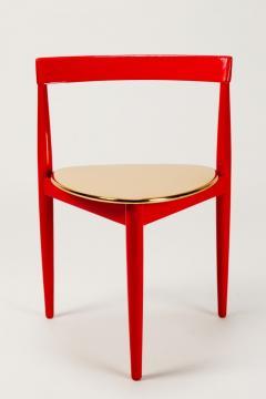 Hans Olsen Pair of Golden Hans Olsen Chairs - 1720084