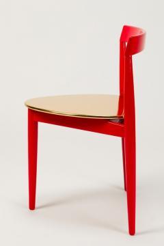 Hans Olsen Pair of Golden Hans Olsen Chairs - 1720085