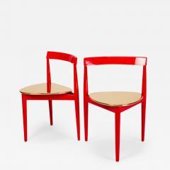 Hans Olsen Pair of Golden Hans Olsen Chairs - 1720618
