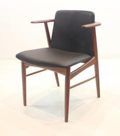 Hans Olsen Pair of Rare Scandinavian Modern Armchairs Designed by Hans Olsen - 1445257
