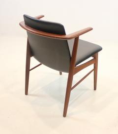 Hans Olsen Pair of Rare Scandinavian Modern Armchairs Designed by Hans Olsen - 1445258
