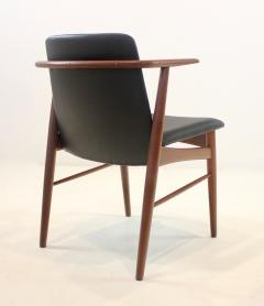Hans Olsen Pair of Rare Scandinavian Modern Armchairs Designed by Hans Olsen - 1445259