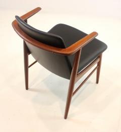 Hans Olsen Pair of Rare Scandinavian Modern Armchairs Designed by Hans Olsen - 1445260