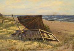 Hans Schleich On the Beach - 1230059