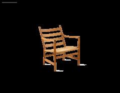 Hans Wegner 4 Armchairs by Hans Wegner - 2091011