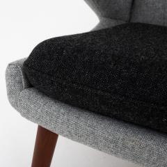 Hans Wegner AP 19 Papa Bear chair in grey wool - 952536