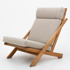 hans wegner ch 3 lounge chair in beech