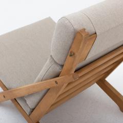 Hans Wegner Ch 3 Lounge Chair In Beech