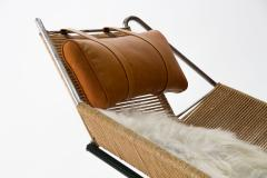 Hans Wegner Early Flag Halyard Chair GE225 by Hans Wegner for GETAMA Denmark 1950s - 1053916