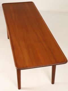 Hans Wegner Exceptional Scandinavian Modern Teak Cane Coffee Table Designed by Hans Wegner - 2018041