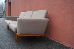 Hans Wegner GE 236 Three Seat Sofa by Hans Wegner for GETAMA - 1734793