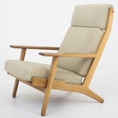 hans wegner ge 290a tall easy chair