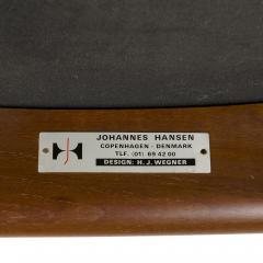 Hans Wegner HANS J WEGNER TEAK DINING CHAIR WITH ARMS - 1487508