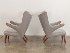 Hans Wegner Hans J Wegner AP 19 Papa Bear Chairs - 1328434