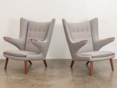 Hans Wegner Hans J Wegner AP 19 Papa Bear Chairs - 1328454