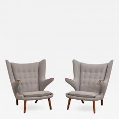 Hans Wegner Hans J Wegner AP 19 Papa Bear Chairs - 1330055