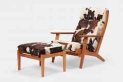 Hans Wegner Hans J Wegner GE 290 Lounge Chair GETAMA 60 s - 1480646
