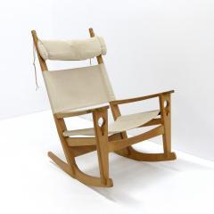 Hans Wegner Hans J Wegner Keyhole Rocking Chair 1967 - 1056671