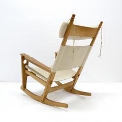 Hans Wegner Hans J Wegner Keyhole Rocking Chair 1967 - 1056674