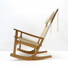Hans Wegner Hans J Wegner Keyhole Rocking Chair 1967 - 1056676