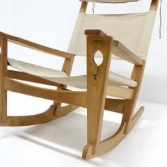 Hans Wegner Hans J Wegner Keyhole Rocking Chair 1967 - 1056678