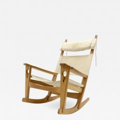 Hans Wegner Hans J Wegner Keyhole Rocking Chair 1967 - 1122713
