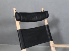 Hans Wegner Hans J Wegner Keyhole rocking chair model GE 673 newly upholstered - 2014153