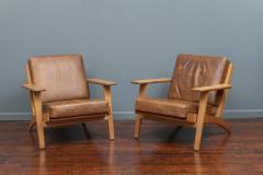 Hans Wegner Hans J Wegner Lounge Chairs for Getama Model 290 - 1930730