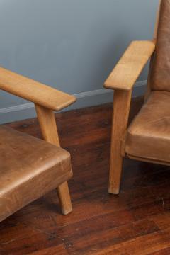 Hans Wegner Hans J Wegner Lounge Chairs for Getama Model 290 - 1930731