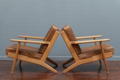 Hans Wegner Hans J Wegner Lounge Chairs for Getama Model 290 - 1930733