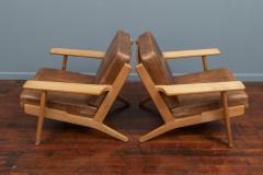 Hans Wegner Hans J Wegner Lounge Chairs for Getama Model 290 - 1930734