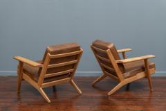 Hans Wegner Hans J Wegner Lounge Chairs for Getama Model 290 - 1930735