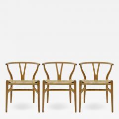 Hans Wegner Hans J Wegner Model CH 24 Dining Chairs 1950 - 1175569