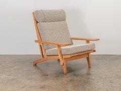 Hans Wegner Hans J Wegner Oak Lounge Chair - 1468266