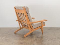 Hans Wegner Hans J Wegner Oak Lounge Chair - 1468303