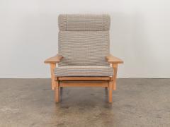 Hans Wegner Hans J Wegner Oak Lounge Chair - 1468304