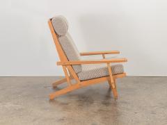 Hans Wegner Hans J Wegner Oak Lounge Chair - 1468305