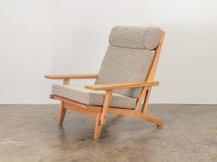 Hans Wegner Hans J Wegner Oak Lounge Chair - 1468306
