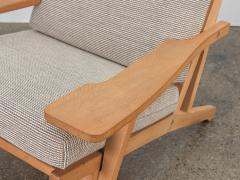 Hans Wegner Hans J Wegner Oak Lounge Chair - 1468312