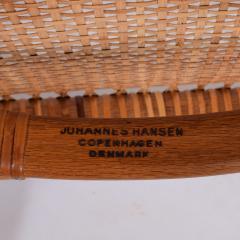 Hans Wegner Hans J Wegner Pair Oak Classics Chairs for Johannes Hansen - 1293389