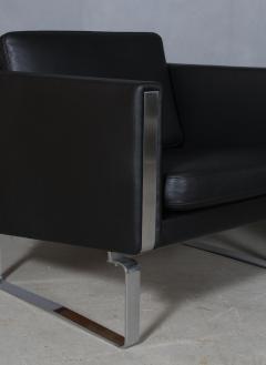 Hans Wegner Hans J Wegner Pair of lounge chairs model JH 101 2  - 2127185