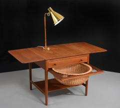 hans wegner hans j wegner sewing table model at 33