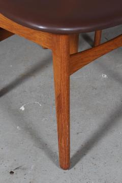 Hans Wegner Hans J Wegner Six chairs model CH 30 of oak 6  - 2099756